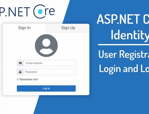 ASP.NET Core MVC Login and Registration with Identity