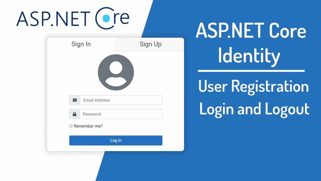 aspnet core identity user authentication
