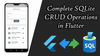 Flutter CRUD Operations with SQLite DB