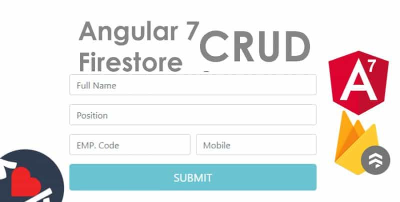 Angular 7 CRUD with Firestore