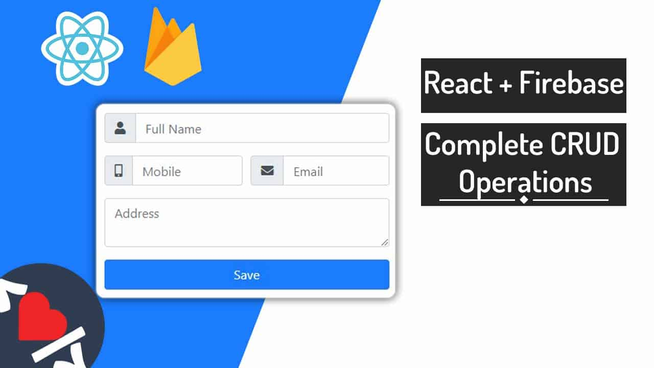 Firebase CRUD Operations in React