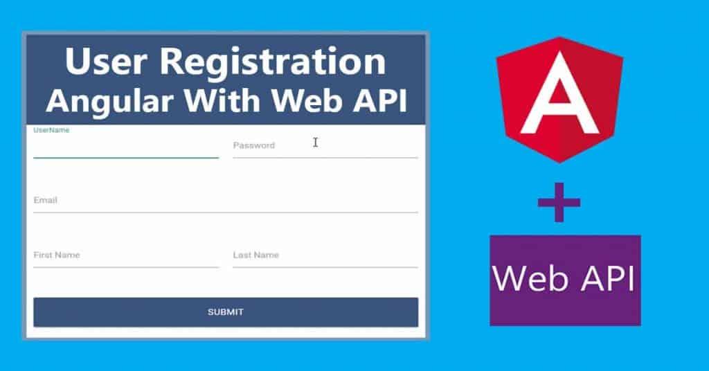 ASP.NET Web API User Registration with Angular