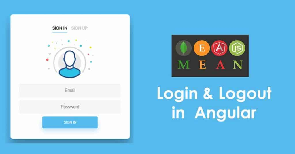 Login and Logout in MEAN Stack